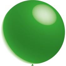 Groene Reuze Ballon Metallic 60cm