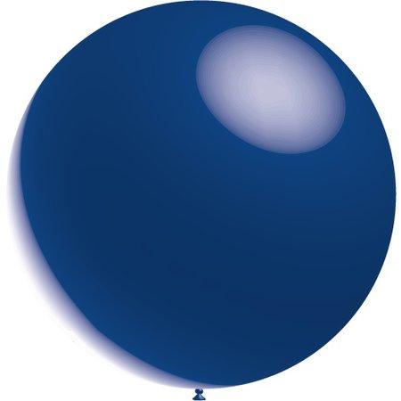 Donkerblauwe Reuze Ballon Metallic 60cm