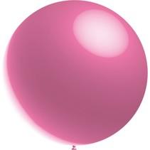 Roze Reuze Ballon Metallic 60cm