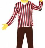 Bert Kostuum Sesamstraat M/L