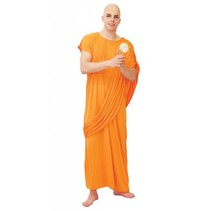 Monnik Kostuum Oranje M/L
