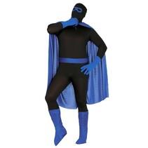 Superheld Kostuum Set Blauw