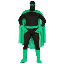 Superheld Kostuum Set Groen