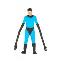 Superheld Kostuum Mr. Fantastic M/L