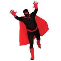 Superheld Kostuum Set Rood