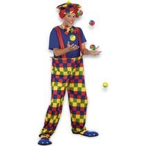 Clownspak Gekleurd M/L