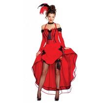 Moulin Rouge Jurk Deluxe M/L