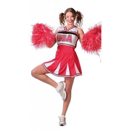 Cheerleader Kostuum USA M/L