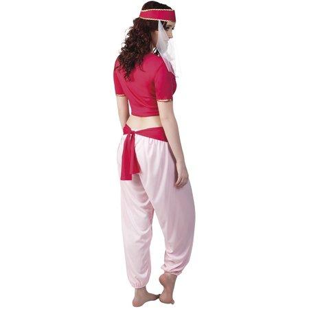 Buikdanseres Kostuum Rood medium