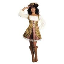 Piraten Kostuum Dames Deluxe