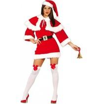 Kerstvrouw Jurkje Deluxe