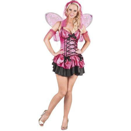 Fee Kostuum Roze