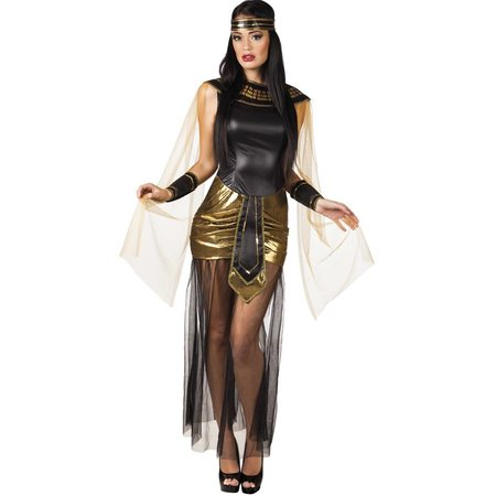 Cleopatra Kostuum Zwart