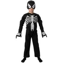 Spiderman Pak Kind Zwart Gespierd Venom™