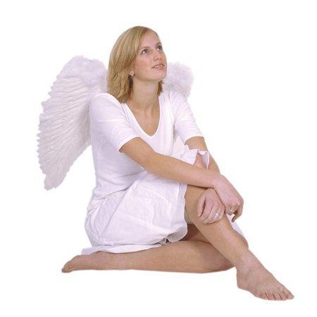 Engelen Vleugels Wit 65cm