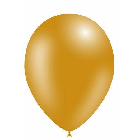 Gouden Ballonnen Metallic 25cm 10 stuks