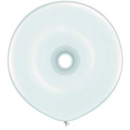 Donut Ballon Wit 40cm