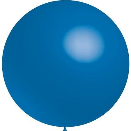 Blauwe Reuze Ballon XL 91cm