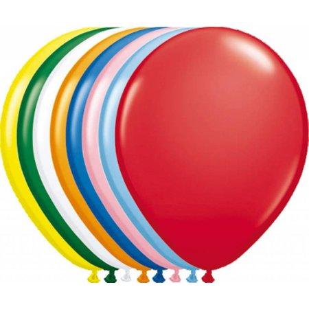 Gekleurde Ballonnen Metallic 25cm 10 stuks