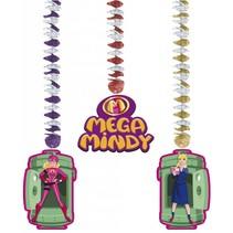 Mega Mindy Hangdecoratie 3 stuks