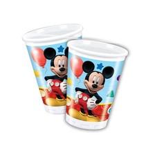 Mickey Mouse Bekers 200ml 8 stuks