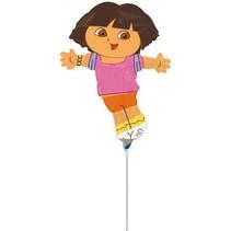 Dora Ballon op stokje 30cm