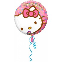 Hello Kitty Helium Ballon 43cm leeg