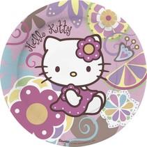 Hello Kitty Borden Versiering 23cm 10 stuks