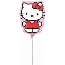 Hello Kitty Ballon Strik op stokje 30cm