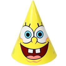SpongeBob Hoedjes 6 stuks