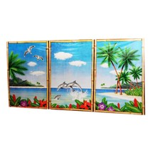 Hawaii Wanddecoratie Deluxe 3 delig