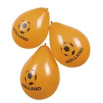 Oranje Ballonnen Holland 25cm 6 stuks