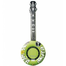 Opblaasbare Banjo Groen 83cm