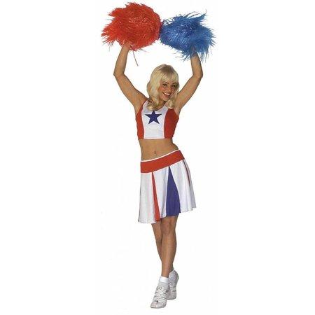 Cheerleader Kostuum Deluxe