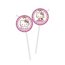 Hello Kitty Rietjes 6 stuks