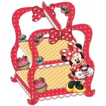 Minnie Mouse Cupcake Etagere Café 28cm