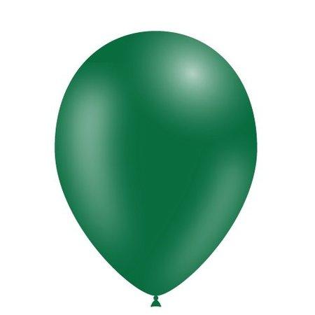 Donkergroene Ballonnen 25cm 10 stuks