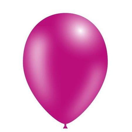 Fuchsia Ballonnen Metallic 25cm 100 stuks