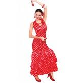 Flamenco Jurk Rood S/M