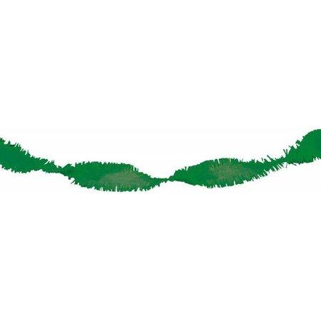 Groene Slingers Crepe 6 meter