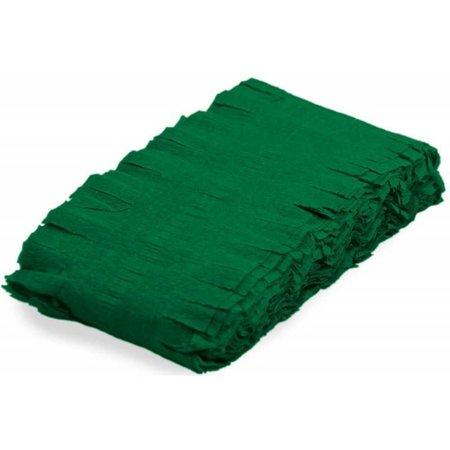 Groene Slingers Crepe 24 meter