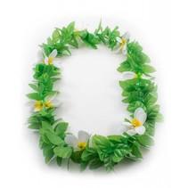 Hawaii Krans Groen/Wit