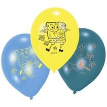 SpongeBob Ballonnen 23cm 6 stuks
