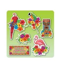 Hawaii Decoratie Set Lua Party 40cm 6 stuks