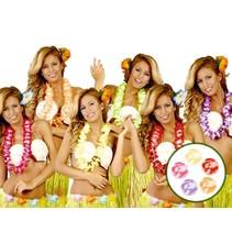 Hawaii Kransen Set Deluxe 10 stuks