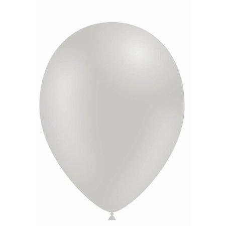 Grijze Ballonnen 30cm 10 stuks