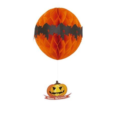 Halloween Honeycomb Hangdecoratie 46cm