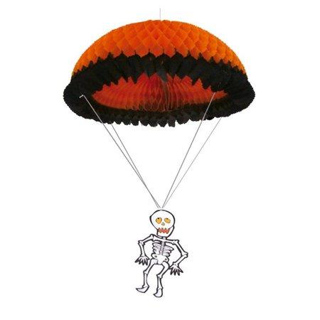Halloween Hangdecoratie Parachute Skelet 55cm