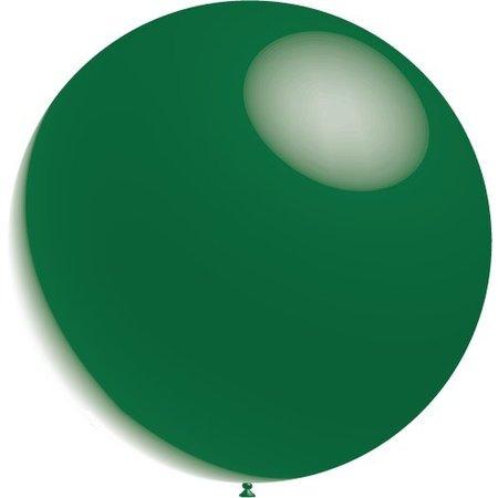 Donkergroene Reuze Ballon XL Metallic 91cm