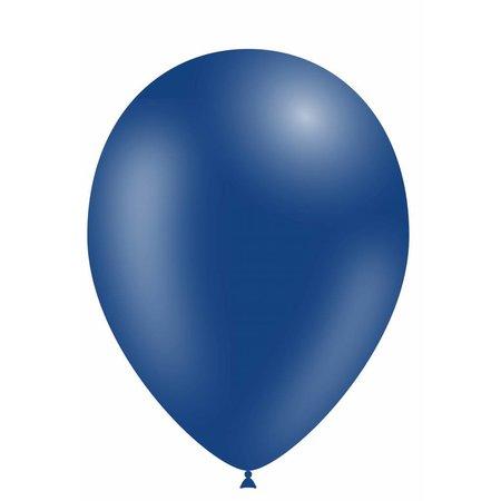 Donkerblauwe Led Ballonnen met schakelaar 30cm 4 stuks